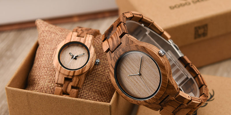 Wood watch for men and woman
