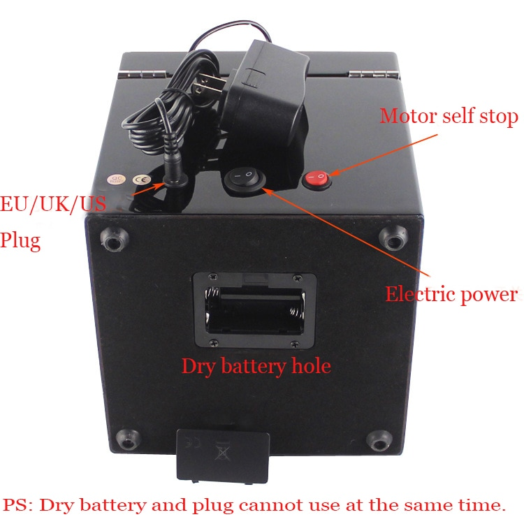Watch winder open motor stop Luxury automatic Watches Box Winders