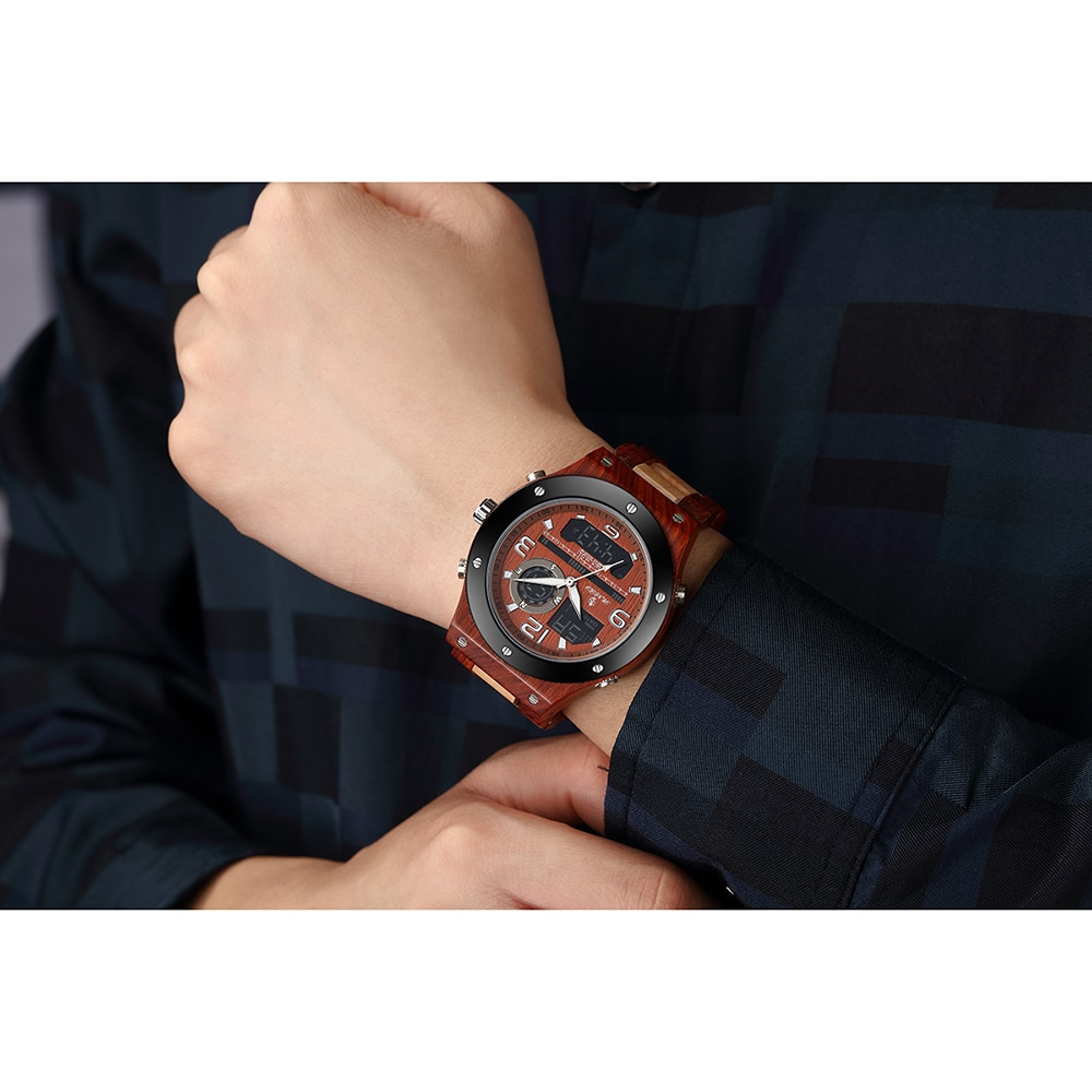 Watches Men Dual Display